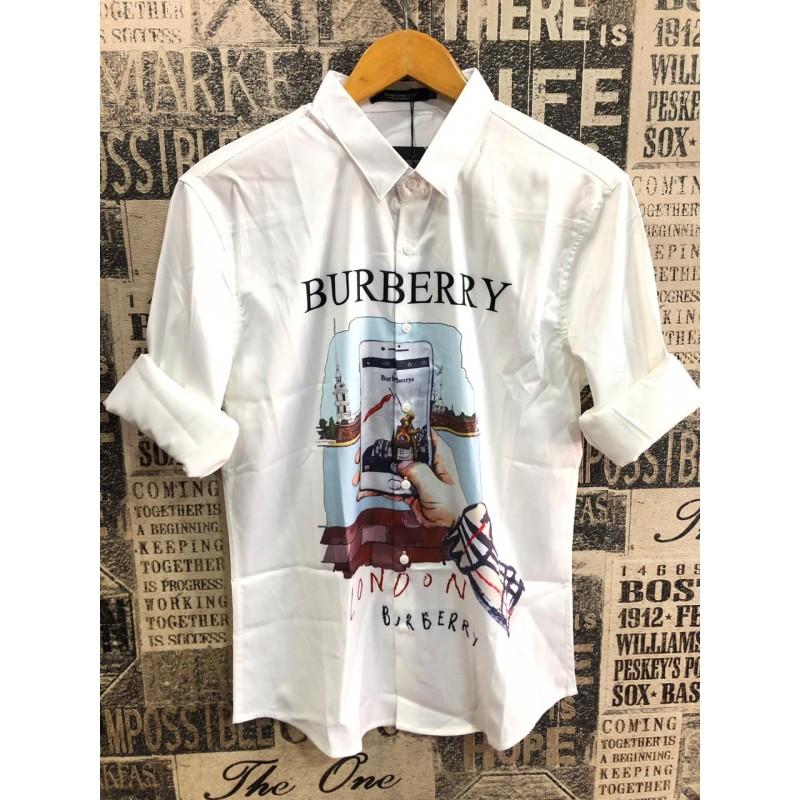 Burberry print t shirt